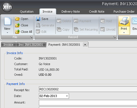 how to keep track of invoices and payments
